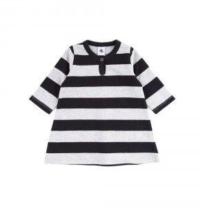 Striped flannel baby Dress