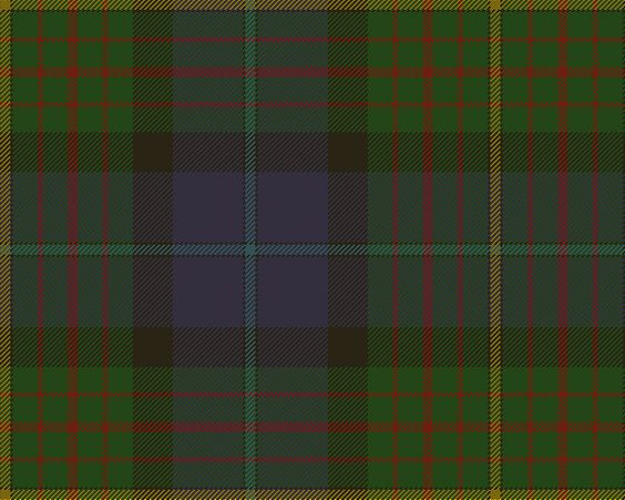 California State Tartan. Did you even know that the states HAD tartans?