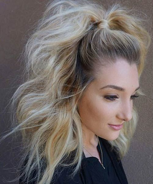 48++ Hairstyles for fluffy hair ideas