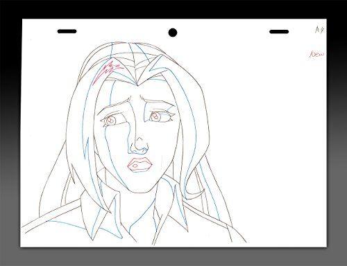 "cool ""Wolverine & The X-Men"" Original Animation Art - Jean Grey Portrait"