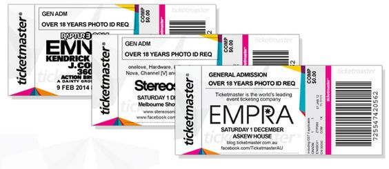 Ticket stub design for assignment Design, Ticket and Ticket design - How To Design A Ticket For An Event