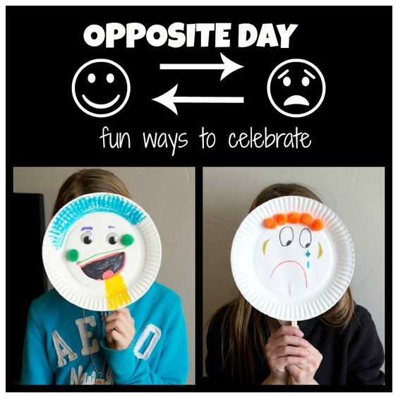 Image result for Celebrate Opposite Day