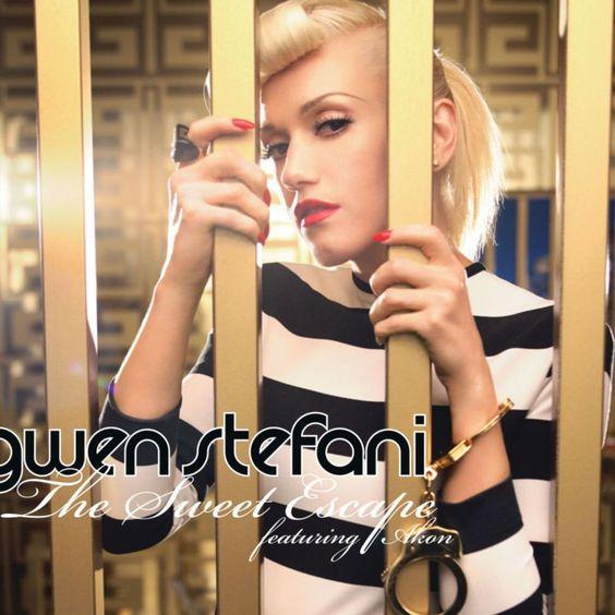 Gwen Stefani, Akon – The Sweet Escape (single cover art)