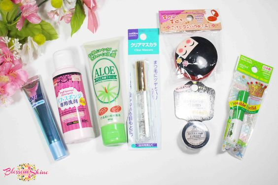 Beauty Haul from Daiso Japan