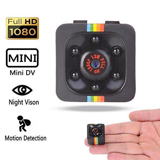 Mini 1080P HD Hidden SPY Camera Night Vision Motion Detection Video Recorder Cam