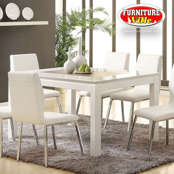 Kilee Dining Set Table And Four Chairs 577 36 Months No Interest 0 Down Payment Credit Check Finance Options Bad N