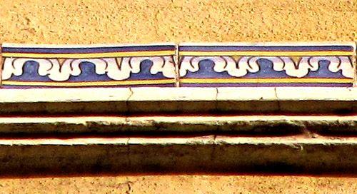 Azulejos antigos no Rio de Janeiro: Centro XVIIIb - rua Teophilo Otoni