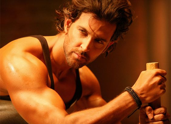 Hrithik Roshan (and then I decided to find and watch every movie he's ever been in! :D)