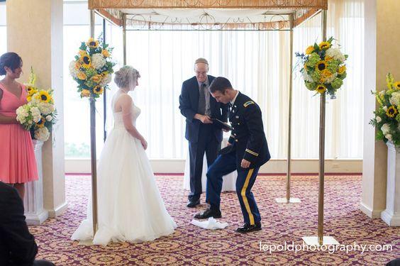 067 Jewish Wedding Ft Belvior Officers Club LepoldPhotography