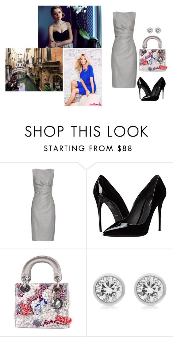 """""""Princess Victoria spending New Year´s Eve with her mother in Venice"""" by giaam ❤ liked on Polyvore featuring MaxMara, Dolce&Gabbana, Christian Dior and Michael Kors"""
