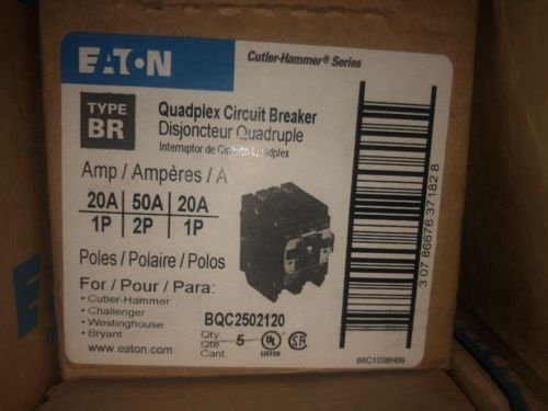 Circuit Breakers And Fuse Boxes 20596 Cutler Hammer 20 50 Amp 4