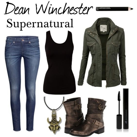 """Dean Winchester"" by cassastrophic on Polyvore. The boots and that jacket."