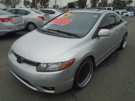 Coupe 2006 Honda Civic Ex Coupe With 2 Door In Commerce Ca 90040 Honda Civic Ex 2006 Honda Civic Civic Ex