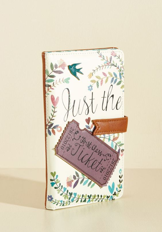 Girl Meets Voyage Travel Wallet, #ModCloth