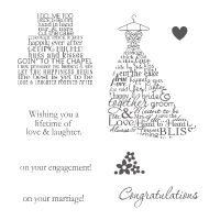 Love & Laughter - Clear-Mount Stamp - by Stampin Up!: