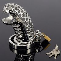 sexy, snake shaped chastity cage. It looks very cool!