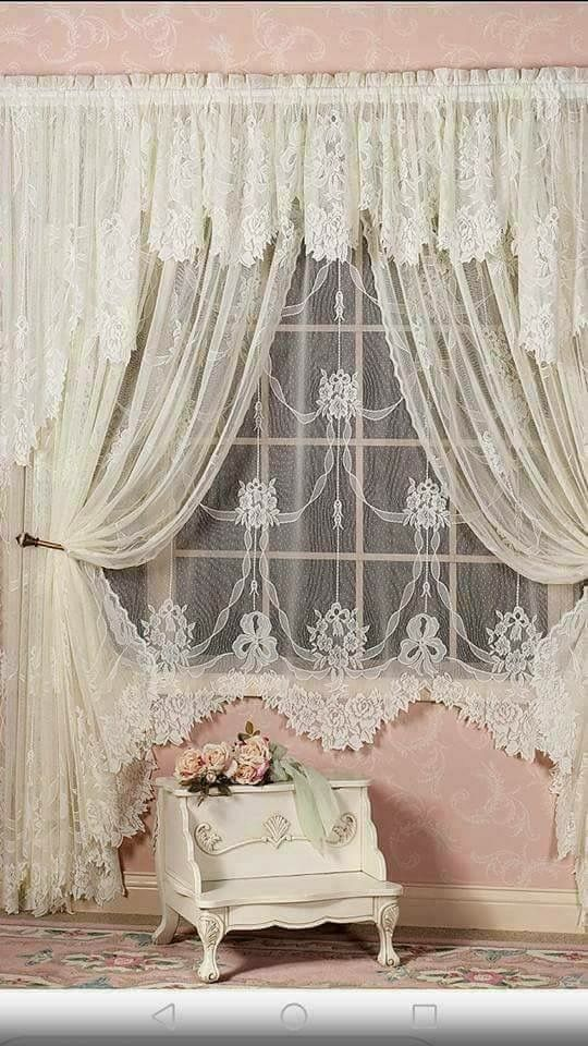 Pin By Blanca On Curtains Valances Cortinas Cenefas Shabby Chic Curtains Stylish Curtains Master Bedrooms Decor #stylish #curtains #for #living #room
