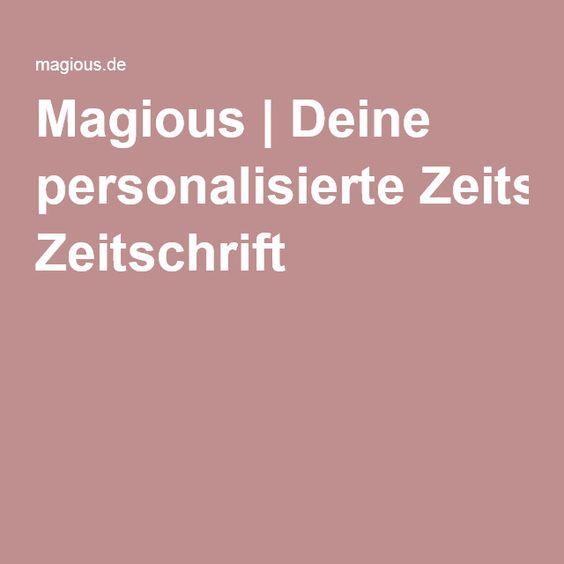 Magious | Deine personalisierte Zeitschrift