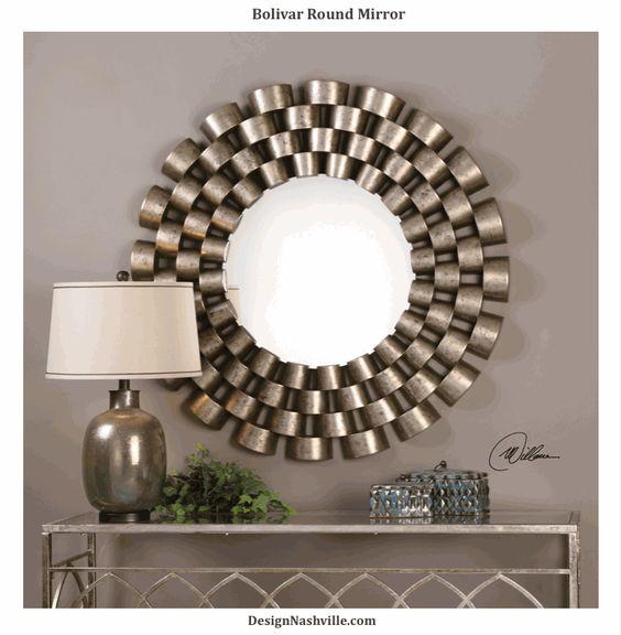 Bolivar Round Mirror