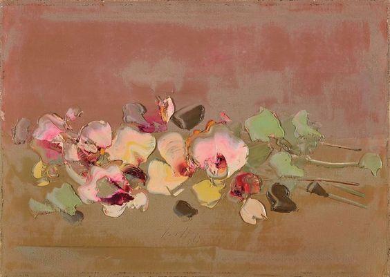 simena: 1970 Sergio Scatizzi (Italian; 1918-2009) ~ Fiori (Flowers)