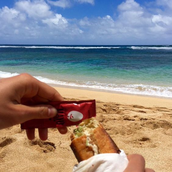 Saying Aloha with #hamptoncreek #JustMayo