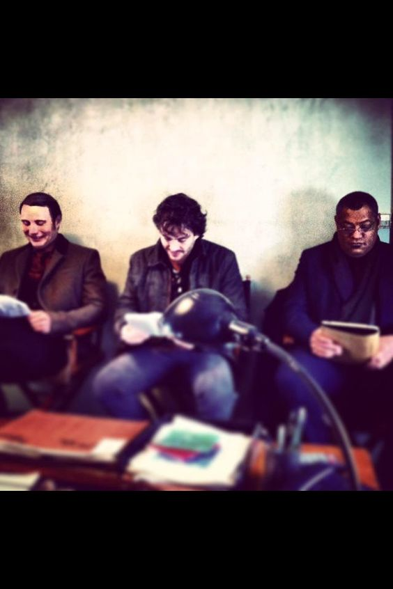 LOOK AT THIS PRECIOUS CAST! #SaveHannibal