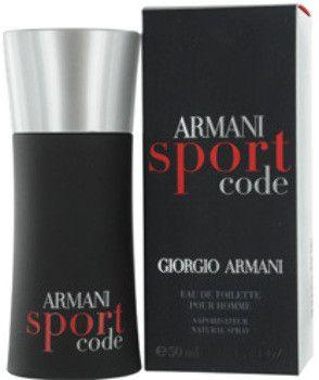 armani code sport edt spray 1.7 oz by giorgio armani