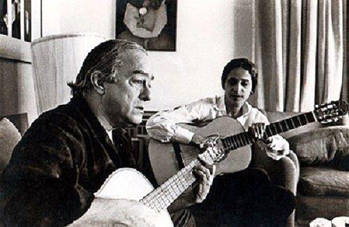 Vinicius de Moraes and Maria Beanhia