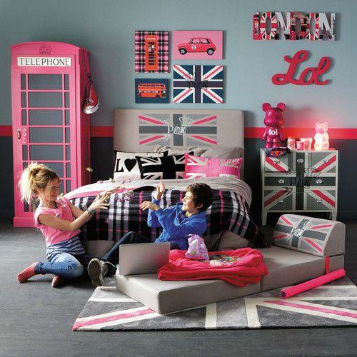 housse t te de lit british commode queen dressing phonebox chauffeuse queen maisons du. Black Bedroom Furniture Sets. Home Design Ideas