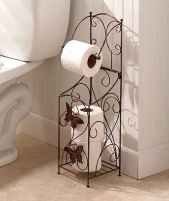 Bronze Butterfly Bathroom Collection