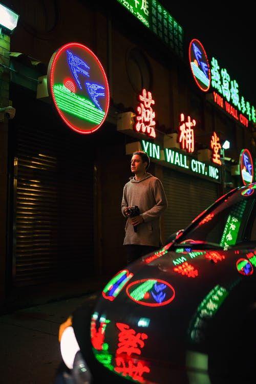 Idees D Enseigne Neon Lumineuse Pour La Deco Interieure Exterieure Vintage Personnalise Boutique Accessoires Entretien De La Voiture Accessoires Auto