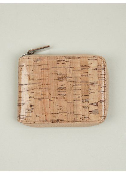 margiela Men's Cork Wallet: