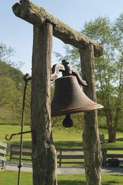 Yes. We actually ring a dinner bell!