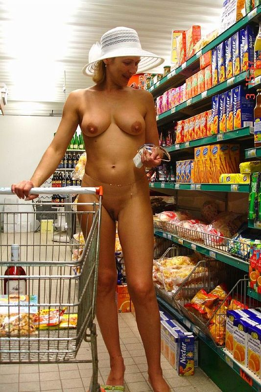 Nice idea Nude girls at the store opinion