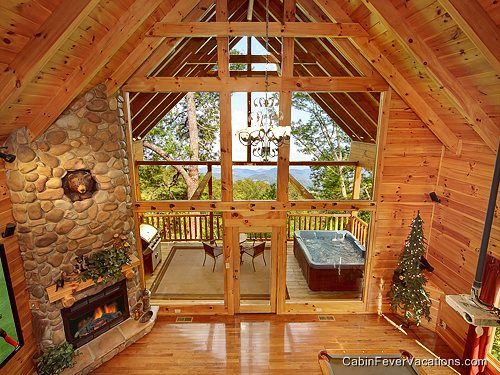 Pigeon Forge Cabin Rental Offering Privacy Seclusion Welcome To Secluded Romance Where You