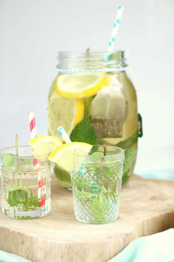cold brew ice tea with no sugar/ zelf ijsthee maken