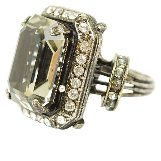 LANVIN Rock Stone Ring ~ Wow! Now, how many dollars is 195.00 British thingies?