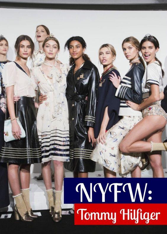 Blog Carolina Sales: NYFW: Desfile da Tommy Hilfiger + detalhes