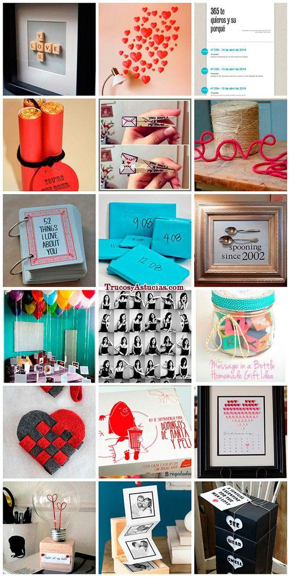 Ideas románticas para regalar en San Valentín o en el aniversario de tu novio…