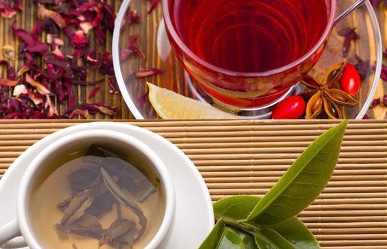 Chá de Hibisco x Chá Verde: qual o melhor chá para turbinar o emagrecimento #chádehibisco #chaverde #emagrecimento