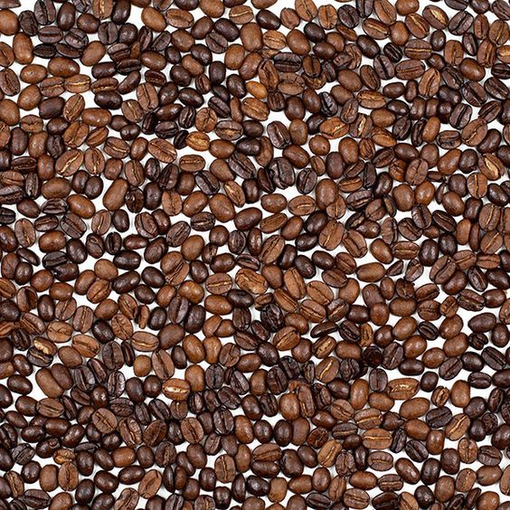 """Java - 48"""" x 32"""" reclaim, .944"""" gauge - yes, those are real coffee beans!  Great for a one-off or DIY coffee shop project! #architecturalresin"""