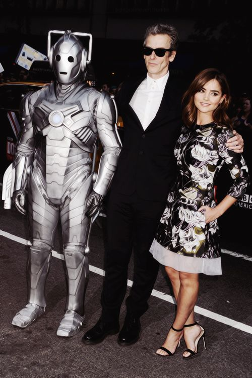 Peter Capaldi and Jenna Coleman on the Doctor Who World Tour 2014