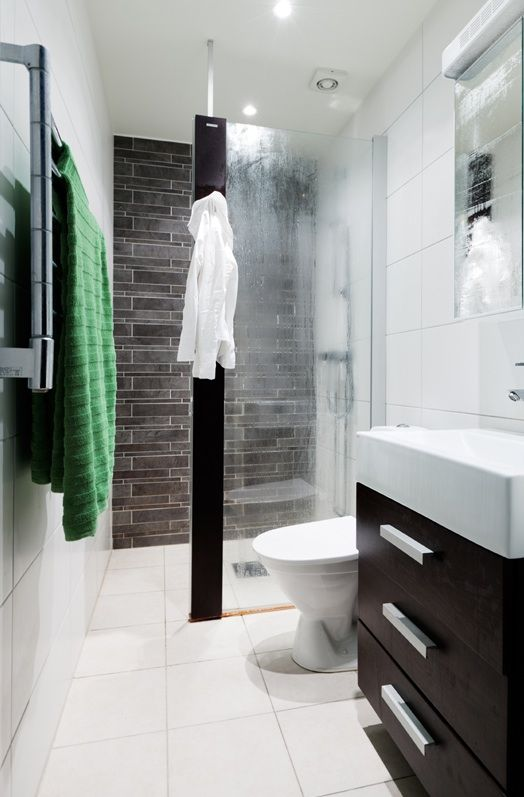 Bathroom coming out and small bathrooms on pinterest for Good colors for small bathrooms