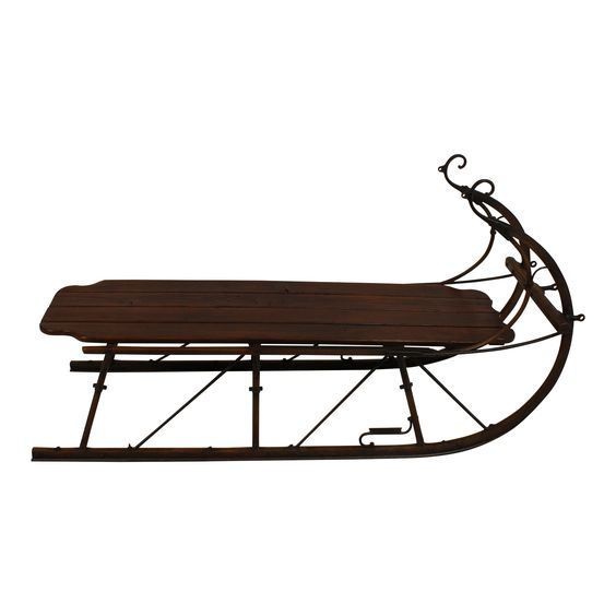 Pinterest the world s catalog of ideas Antique sleigh coffee table