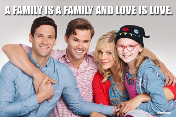 """""""A family is a family and love is love."""" #NewNormal"""