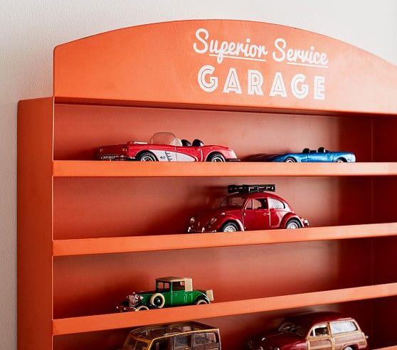 Car Garage Wall Shelf Pottery Barn Kids Cars Room Kids