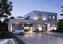 Moderne stadtvilla mit doppelgarage  Die besten 25+ Bauhausstil haus Ideen nur auf Pinterest | Häuser ...