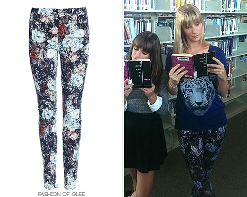 Brittany already owns a few pairs of floral jeans, but these might ...