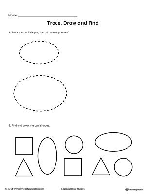 Trace, Draw and Find: Square Shape | Pinterest | Other, Shape and ...