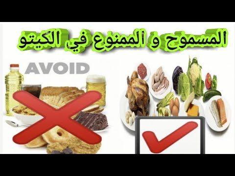 الاكل المسموح و الممنوع في الكيتو دايت أنواع الكيتو دايت Youtube